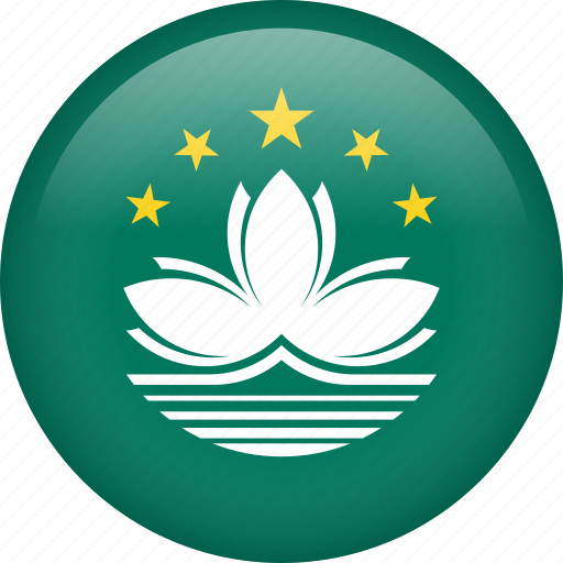 circle, country, flag, macau, national icon