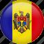 circle, country, flag, moldova, national icon