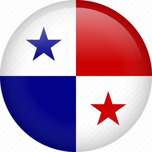 circle, country, flag, nation, national, panama icon