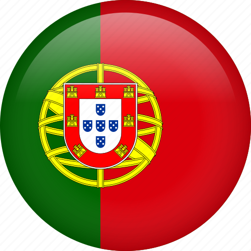 circle, country, flag, nation, national, portugal icon