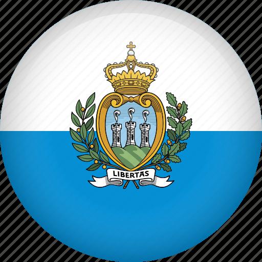 Slikovni rezultat za flag circle san marino