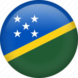 circle, country, flag, nation, national, solomon islands icon
