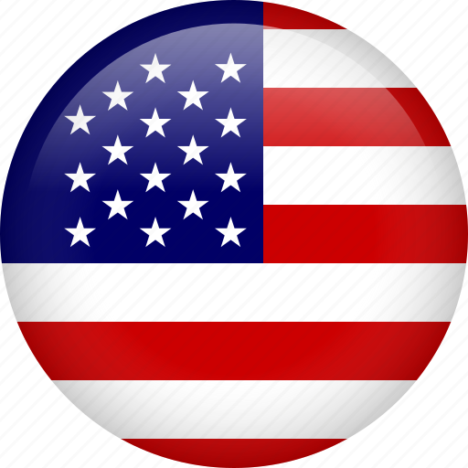 america, american, circle, flag, states, united, usa icon