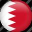 bahrain, circle, country, flag, nation, national icon