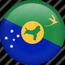 flag, christmas island, country, nation