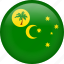 circle, cocos islands, country, flag, nation, national icon