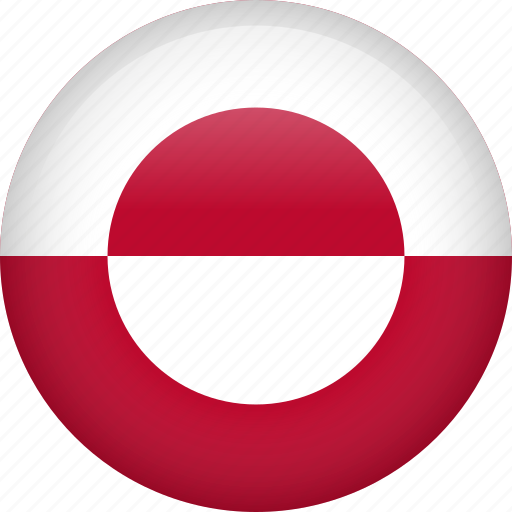 circle, country, flag, greenland, nation icon
