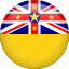 circle, country, flag, nation, national, niue icon