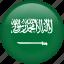 circle, country, flag, nation, national, saudi arabia icon