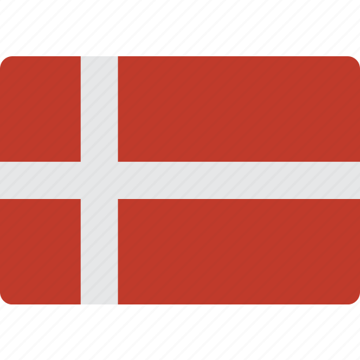 country, denmark, flag, international icon
