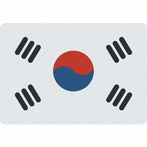 Country, flag, international, korea, south icon - Download on Iconfinder