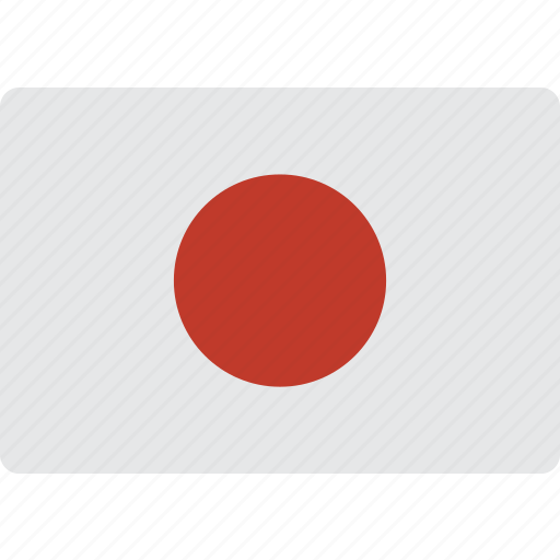 country, flag, international, japan icon