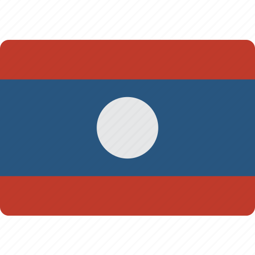 Country, flag, international, laos icon - Download on Iconfinder