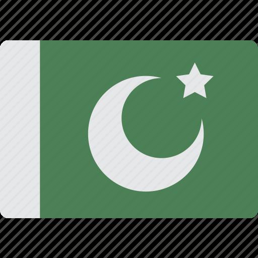country, flag, international, pakistan icon
