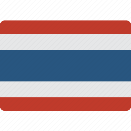 country, flag, international, thailand icon