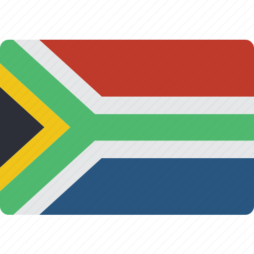 africa, country, flag, international, south icon