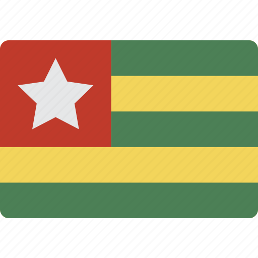 International, country, flag, togo icon - Download
