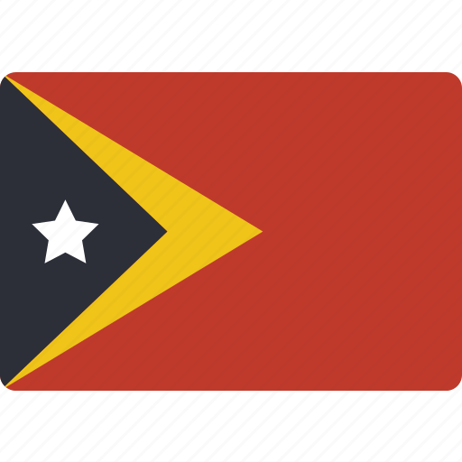 country, flag, international, timor icon