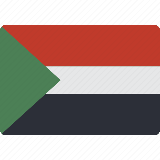 Country, flag, international, sudan icon - Download on Iconfinder