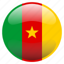 cameroon, flag icon