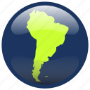 continent, south america, southamerica, map