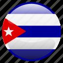 cuba, flag icon