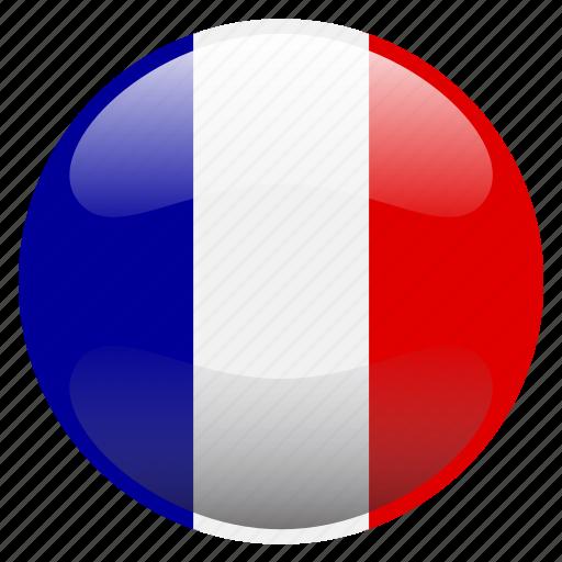 flag, france icon