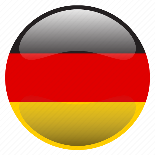 deutschland, flag, germany icon