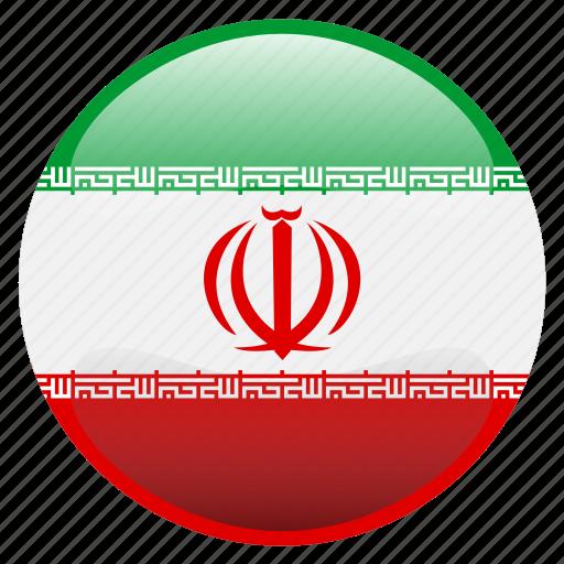 flag, iran, persia, ایران icon