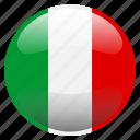 flag, italia, italy icon