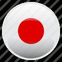 flag, japan, 日本 icon