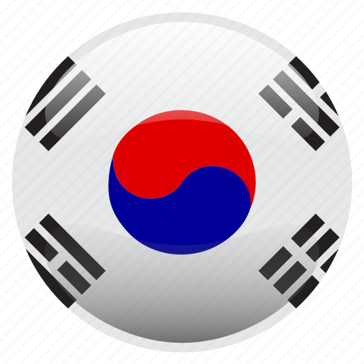 flag, korea, south korea, 대한민국 icon