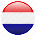 flag, nederland, netherlands icon