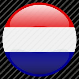 flag, nederland, netherlands icon