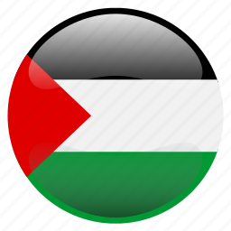 flag, palestine, فلسطين icon