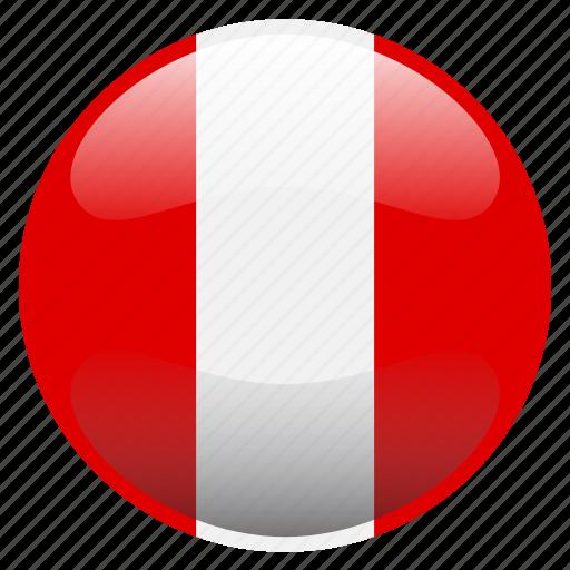 flag, peru, perú icon