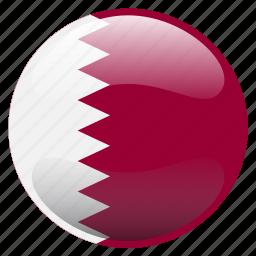 flag, qatar, قطر icon