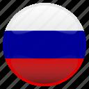 flag, russia, россия icon