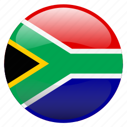 flag, south africa icon