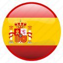 españa, flag, spain icon