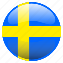 flag, sverige, sweden icon