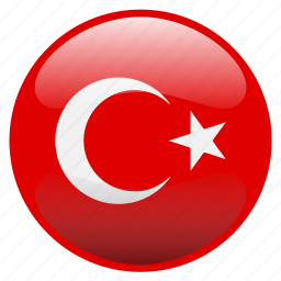 flag, turkey, türkiye icon