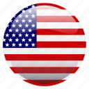 flag, united states, united states of america, usa icon
