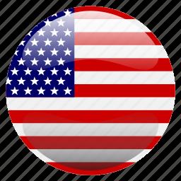 flag, united states, united states of america, usa icon