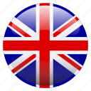 flag, great britain, uk, united kingdom, unitedkingdom icon