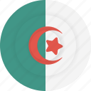 algeria, country, flag, geography, national, nationality