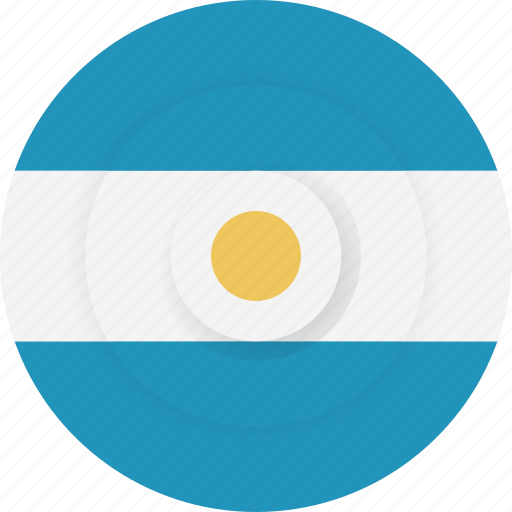 argentina, country, flag, geography, national, nationality icon