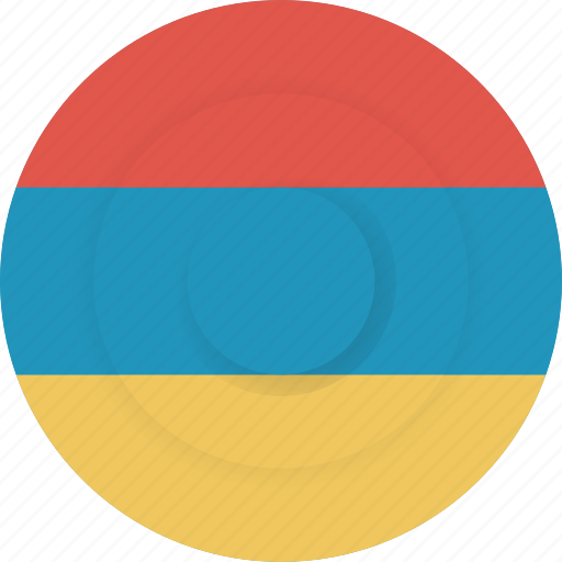 armenia, country, flag, geography, national, nationality icon