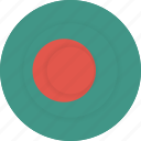 bangladesh, country, flag, geography, national, nationality icon