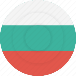 bulgaria, country, flag, geography, national, nationality icon